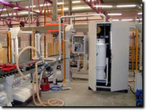 Remove dust and particles with 99% efficiency with our cyclone installation